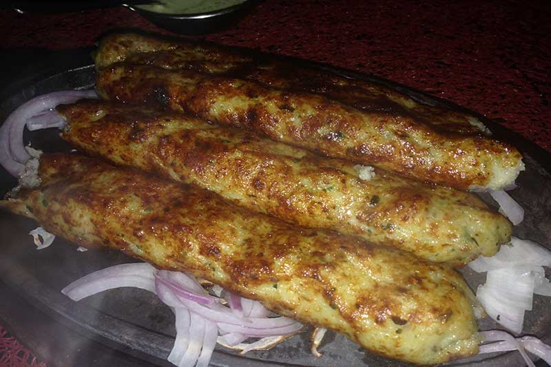 Fish Seekh Kebab